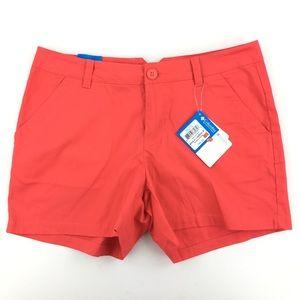 """Columbia Chino Shorts Modern Classic Orange 4"""""""